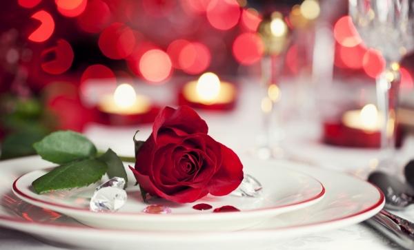 Una cena romantica per una serata speciale